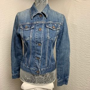 Gap Stretch Denim Jacket Size S